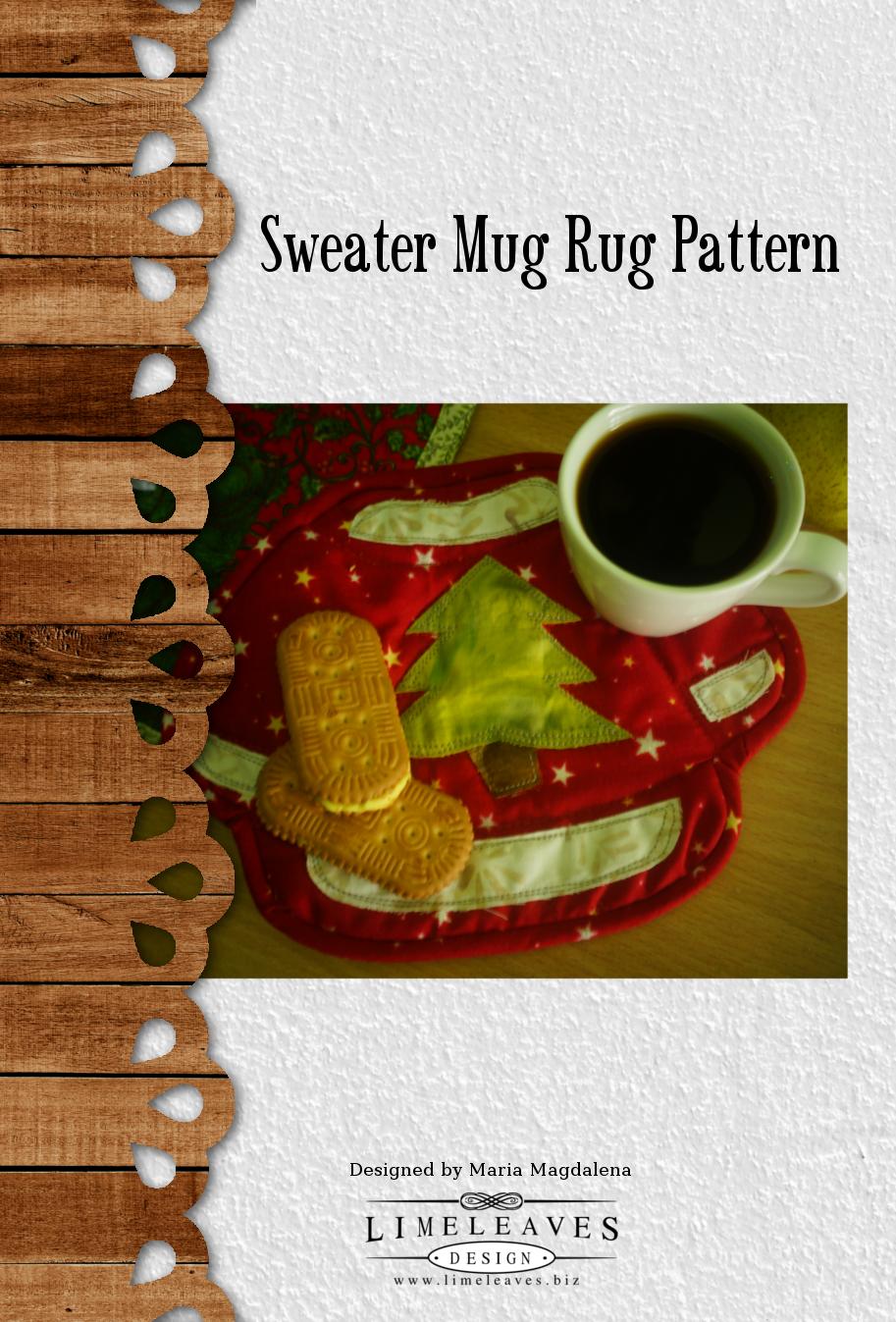 Mug Rug Sweater Quilt Pattern